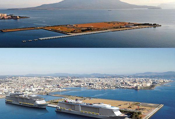 協賛広告/鹿児島港・名瀬港の整備事業に貢献します
