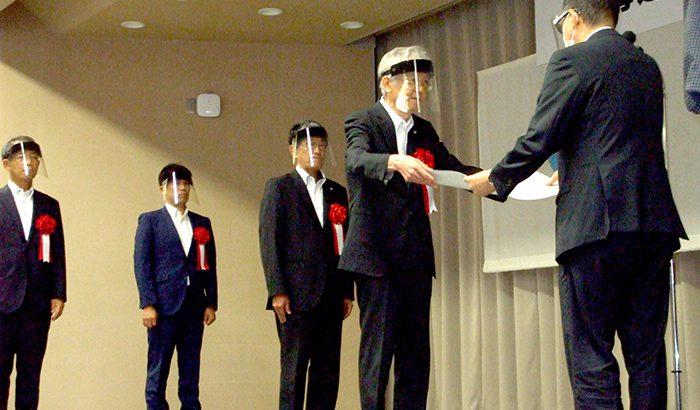 令和2年度  北海道開発局優良工事等表彰式